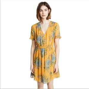 Madewell floral dress. Great for Fall!
